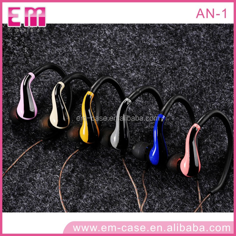 AN-1 Upscale Hybrid Color Ear Hook Earphone