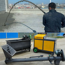 New Tech Foaming And Pumping intergrated Together Foaming Concrete Machine