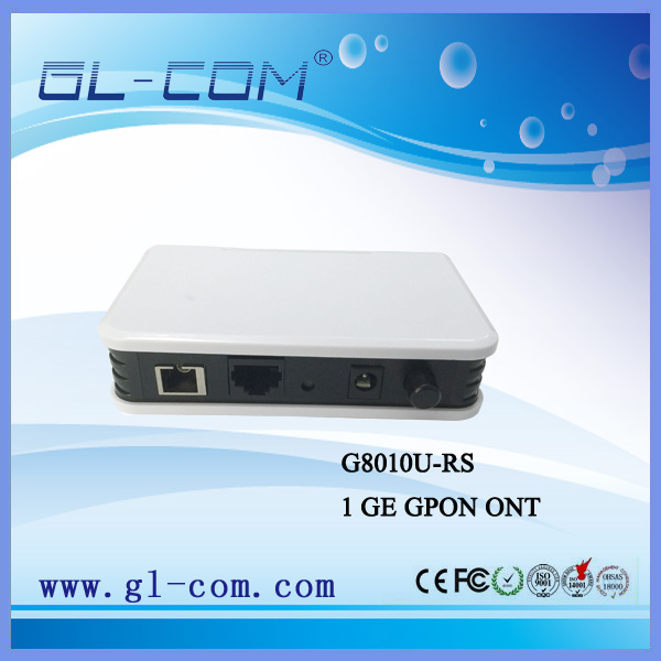 GL-COM brand GL-G8010U-RS 1 GE ONU Realtek Chipset GPON ONT for distributor or ISP