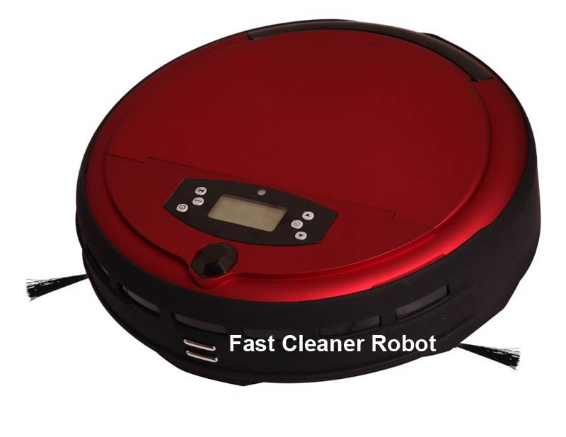 Voice function wet and dry mop commercial robot vacuum / hot ash vacuum cleaner