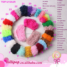 Hot sale ! top quality assorted color cotton ruffle new born infant Diaper cover baby bloomers
