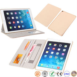 Hot selling leather case for ipad air 2 leather case for ipad pro