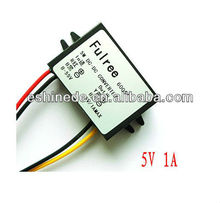 Waterproof DC-DC Converter 12V 24V 36V 48V 55V to 5V 1A 5W DC Step Down Converter for Car LED Display