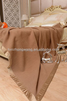 Sell Stocked baby camel hair blanket with better price