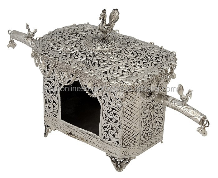 Exclusive Wedding Gift Unique Hut Candle Holder Or Silver Plated Brass Stand