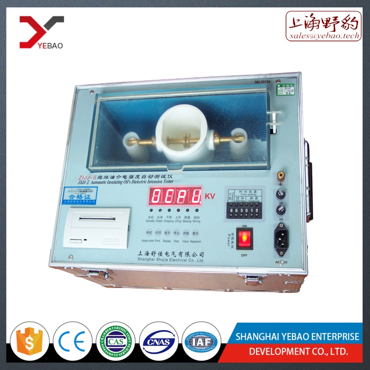 High voltage breakdown tester 60kv,80kv,100kv,automative transformer oil testing equipment