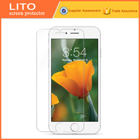 9h anti fingerprint hd in base tempered glass screen protector for iphone 6 phone 6s