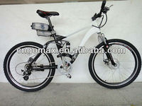 2013 New design Rear Suspension Electric Bike for sell from GOMAX brand GX-EB-020 with bottle battery li-ion 36V/9AH CE