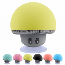 Shower Wireless Mini Bluetooth Speaker Portable Mushroom Waterproof Stereo Bluetooth Speaker
