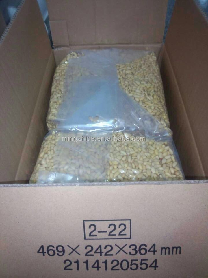 Chinese Pine Nut Kernels with OEM Service