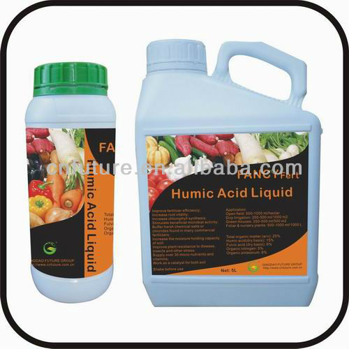 super organic Liquid Humic Acid fertilizer