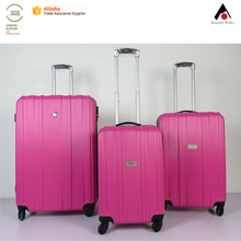 new design factory price PC/ABS promotion gifts trolley luggage