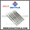 High quality diamond tweezer with option for lock, groove, stainless steel, titanium, diamond coated