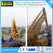 GBM rails equilibrium crane /barge mounted/free standing/crawlers type