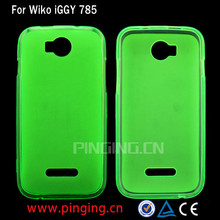 For Wiko IGGY TPU Case, Jelly Soft Gel TPU Phone Case For Wiko IGGY