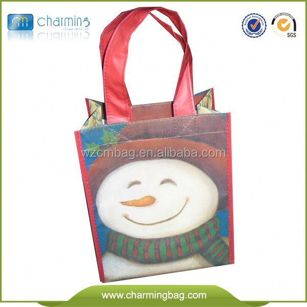 Hot Sale Promotional Shopping Hand Made Nonwoven Bags