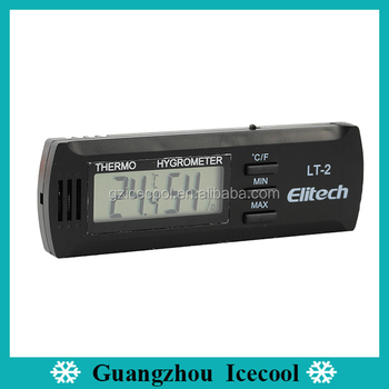 Exquisite ultra thin Digital Thermometer Hygrometer LT-2 for household/green house/office and labs