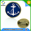 Custom Metal Navy Anchor Pin Broaches Wholesale