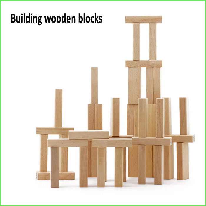 Stack Up Play Wooden Stacking Board Games Building Blocks For Kids