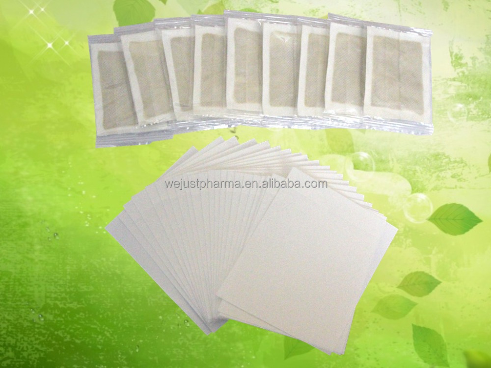 OEM servcie CE Slim patch bamboo foot patch detox Foot patch