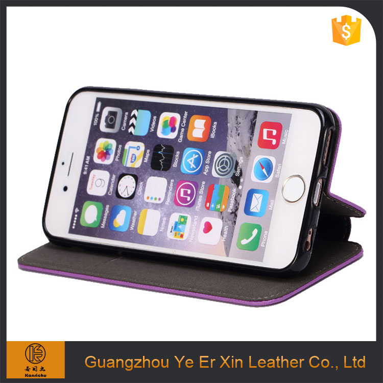 China supplier wholesale luxury oem PU leather mobile phone case for iphone 6s 7