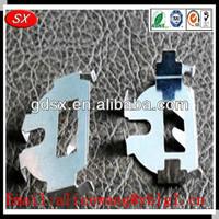 Nickel plating/copper/stainless steel 4 aa battery holder,coin cell battery holder,cr2477 battery holder