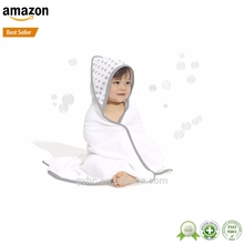 100 % cotton kids hooded beach towels/poncho