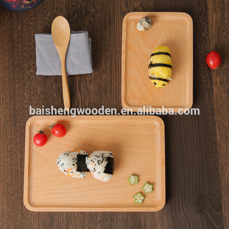 Wholesale 2017 New Design Chip Wood Tray Price for sale