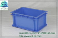 standard new pp plastic stackable logistic container storage box for automobile industry