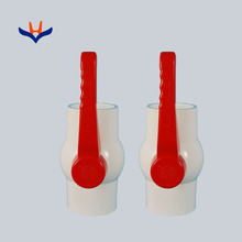 Manual operation agriculture irrigation long handle PVC Ball valve