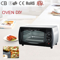 CZ09A mini small size electric pizza oven baking toaster oven