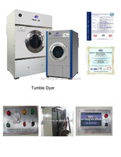 CE Approved Stainless Steel Big Capacity Electric Cloth Dryer 50kg electric dryer