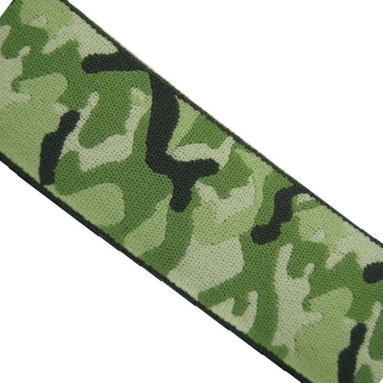 2015 new camouflage polyester nylon webbing for garment bags