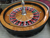 "Luxury Casino Gaming Standard solid wood 32"" roulette wheel"