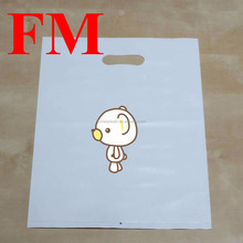 Best Selling die cut plastic colour shopping bag