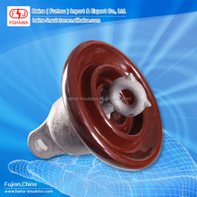 11KV ANSI 52-1 Porcelain Disc Suspension Type Insulator with Cap