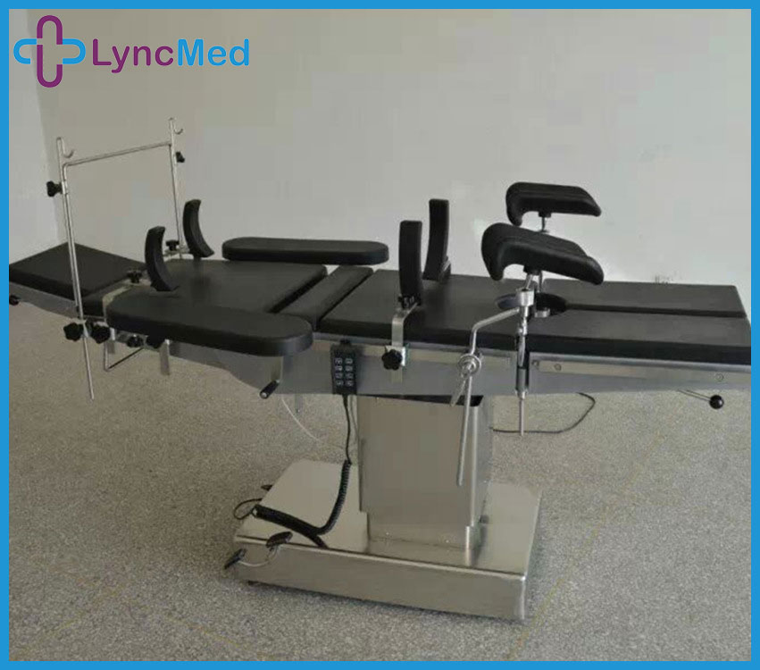 Electric C-arm X-ray Orthopaedic Operating Table with Traction Frame