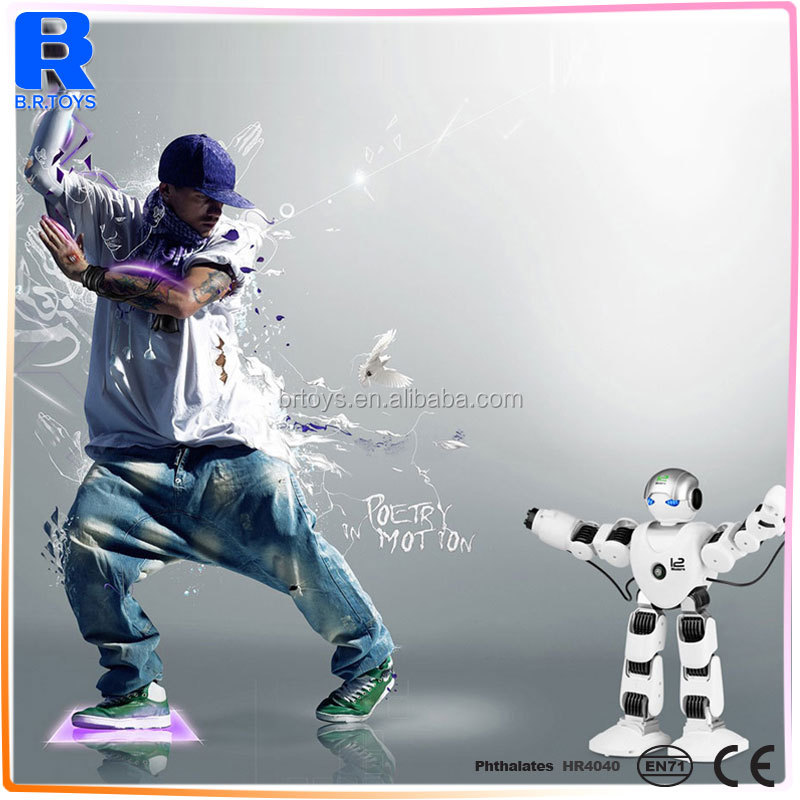 2017 New Intelligent RC Robot Funny 2.4G Dancing Battle Model Toy Multi-function remote control robot toy