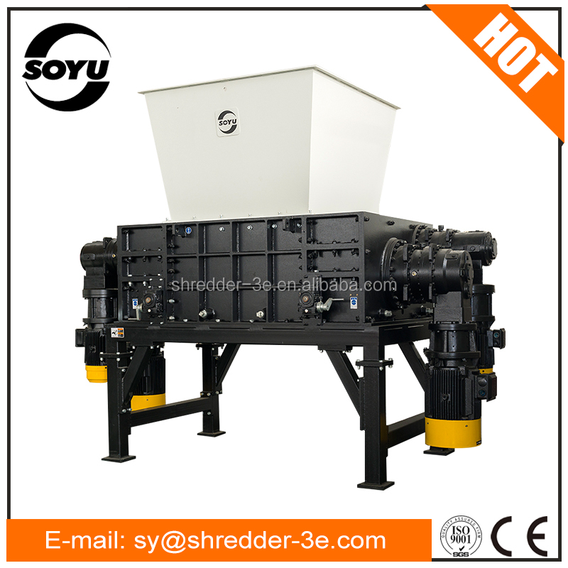 Waste carton and cardboard shredder