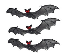 Halloween Spooky Nylon Hanging Bats for Halloween Decoration