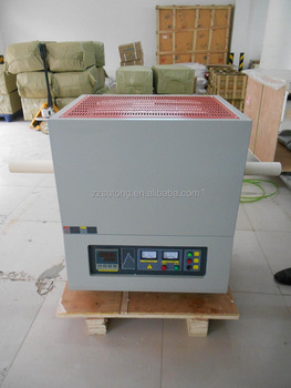 SiC Electric Vacuum Glass Testing Tube Furnace up to 1400C