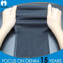 high elastane spandex elastic stretch cotton black denim fabric