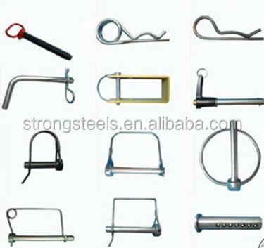 DIN11024 Stainless Steel 304 R Shape Spring Cotter Lock Pin In Factory Price
