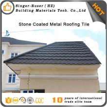 Hot best quality classical / shingle colorful stone coated metal plana roof tile for house (CE,SGS,SONCAP) Africa ,nigeria