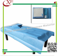 hospital medical waterproof disposable nonwoven bed sheet
