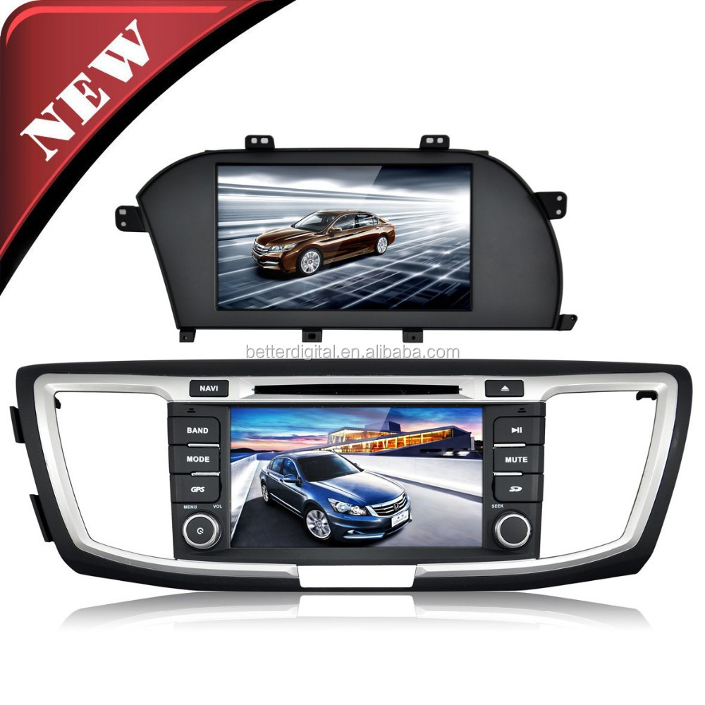 Touch screen car dvd player for honda accord 9 with CE/ROHS