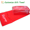 100% Cotton Embroidered Sports Face Towel With Logo