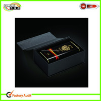 luxurious fancy custom rigid cardboard Olive oil paper box supplier in China