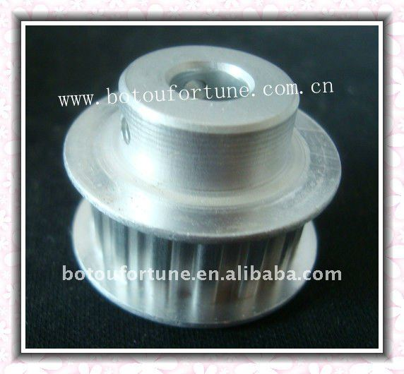 Aluminum XL conveyor idler pulley time belt tensioner pulley