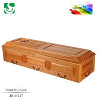 JS-E217 funeral wholesale best price china coffin